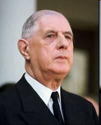 Präsident Charles de Gaulle (1890-1970)